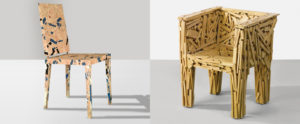 foto di Favela chair and Celia chair by Campana Brothers