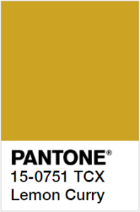 foto di Lemon Curry Pantone 15-0751 tcx