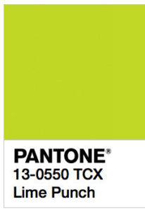 foto di Lime Punch Pantone 13-0550 tcx