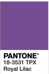foto di Royal Lilac Pantone 18-3531 tpx