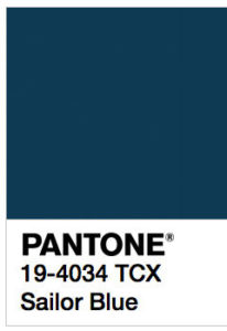 foto di Sailor Blue Pantone 19-4034 tcx