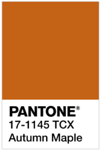 foto di Autumn Maple Pantone 17-1145 tcx