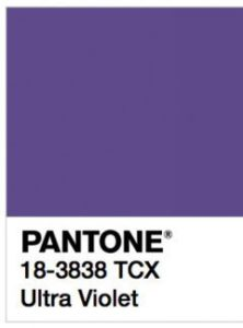 foto di Ultra Violet Pantone 18-3838 tcx