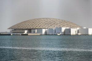 foto cupola louvre abu dhabi