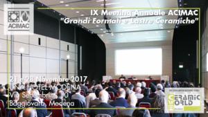 foto acimac ix meeting annuale - tosilab