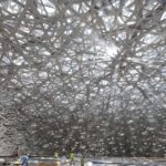 foto Cupola Louvre Abu Dhabi nel dettaglio