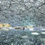 foto Dettaglio della maestosa cupola del Louvre Abu Dhabi