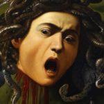 foto opere caravaggio - scudo con testa di medusa
