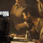 foto caravaggio film foto dal set