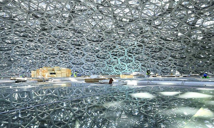 Louvre Abu Dhabi, the new museum by Jean Nouvel - Tosilab