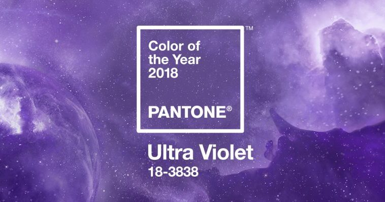 Il colore dell'anno 2018 Pantone è Ultra Violet!