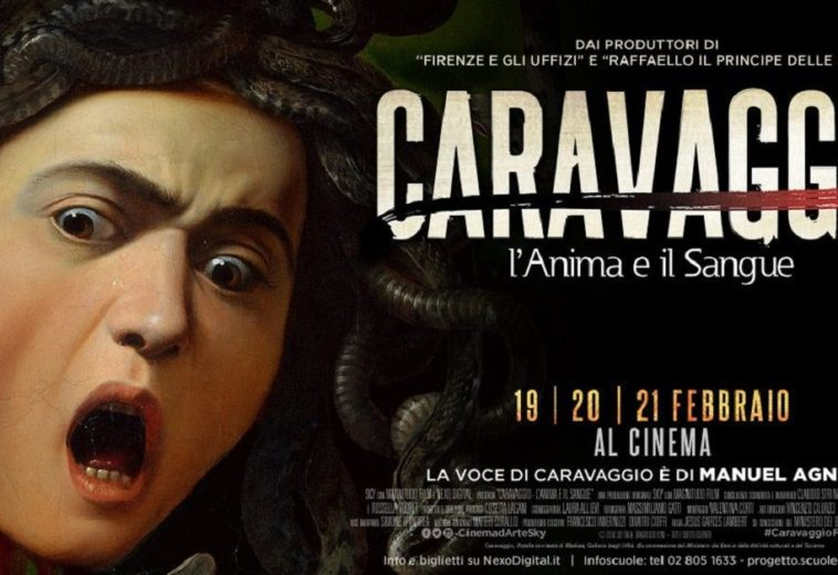 Caravaggio – L'anima e il sangue. The movie on Caravaggio's life