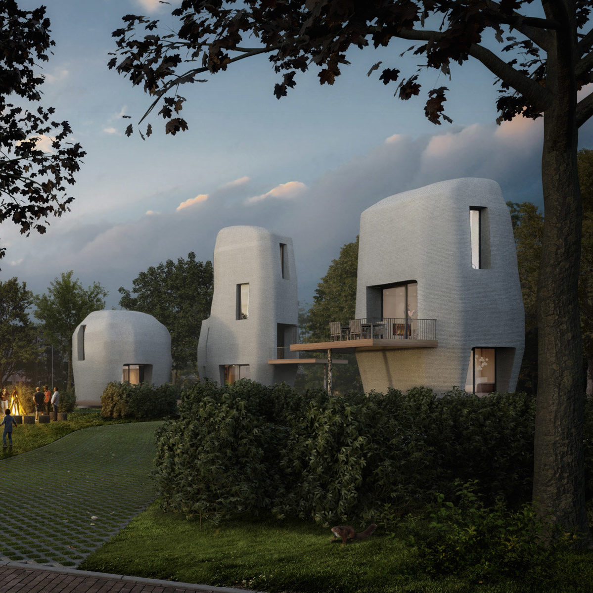 The First 3D Printed Houses Will Appear In Eindhoven