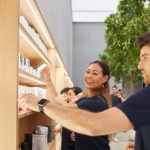 nuovo apple store milano interno
