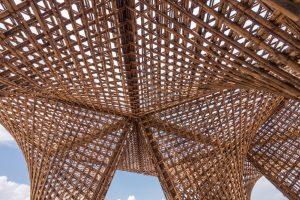 foto Bamboo Stalactite di Vo Trong Nghia - Padiglione Vietnam alla Biennale di Venezia 2018