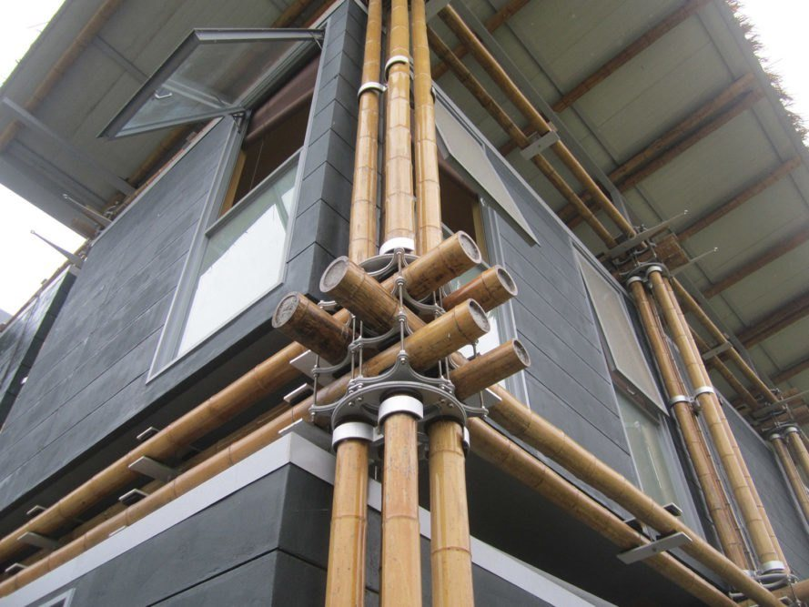 foto Detail Energy Efficient Bamboo House 2_Laverde