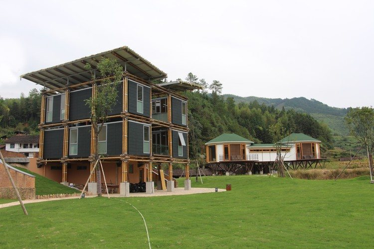 foto Energy Efficient Bamboo House_Laverde