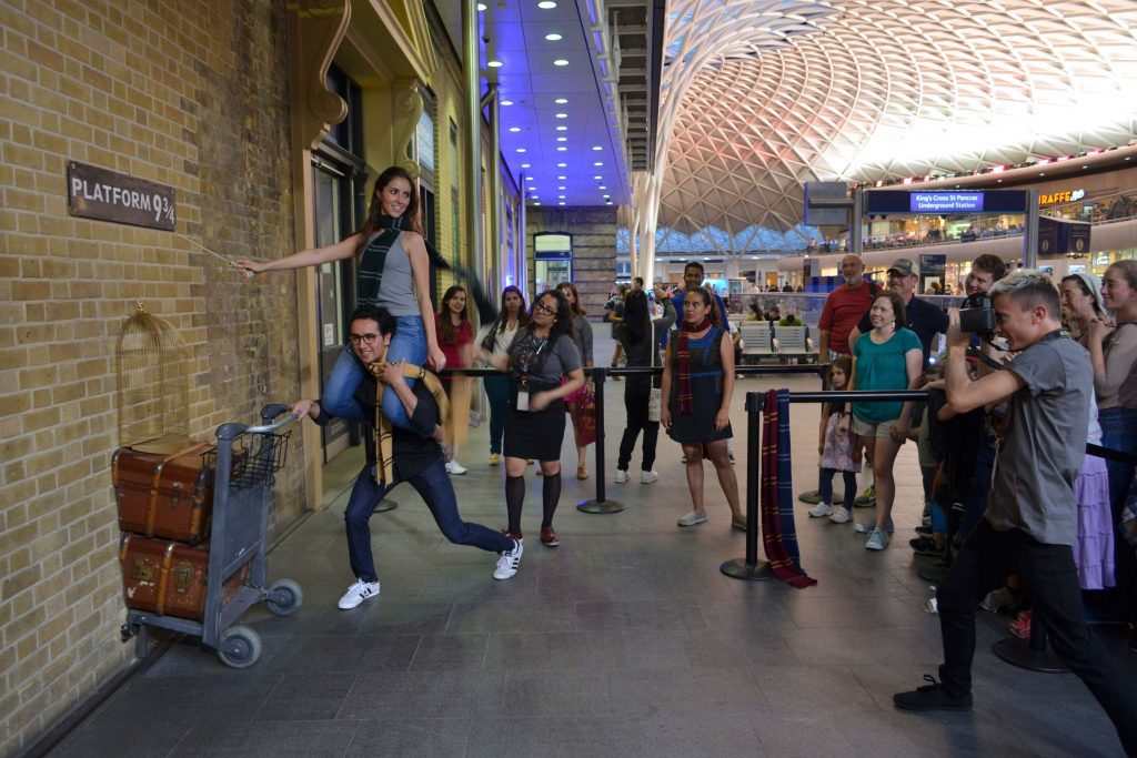 foto Kings Cross Platform 9 3_4