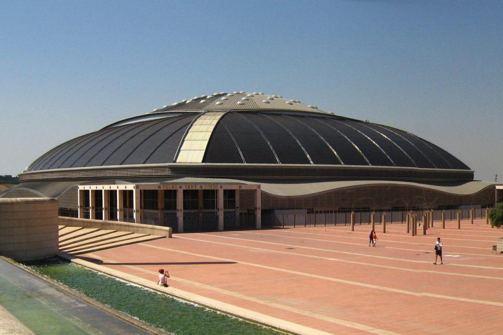 foto di Barcelona Palau Sant Jordi Arata Isozaki architetto