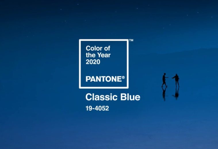 The Pantone Color of The Year 2020 is Classic Blue