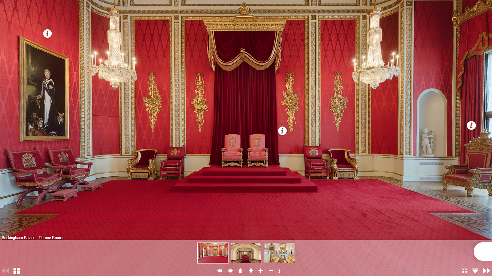 foto Buckingam Palace virtual tour - tosilab