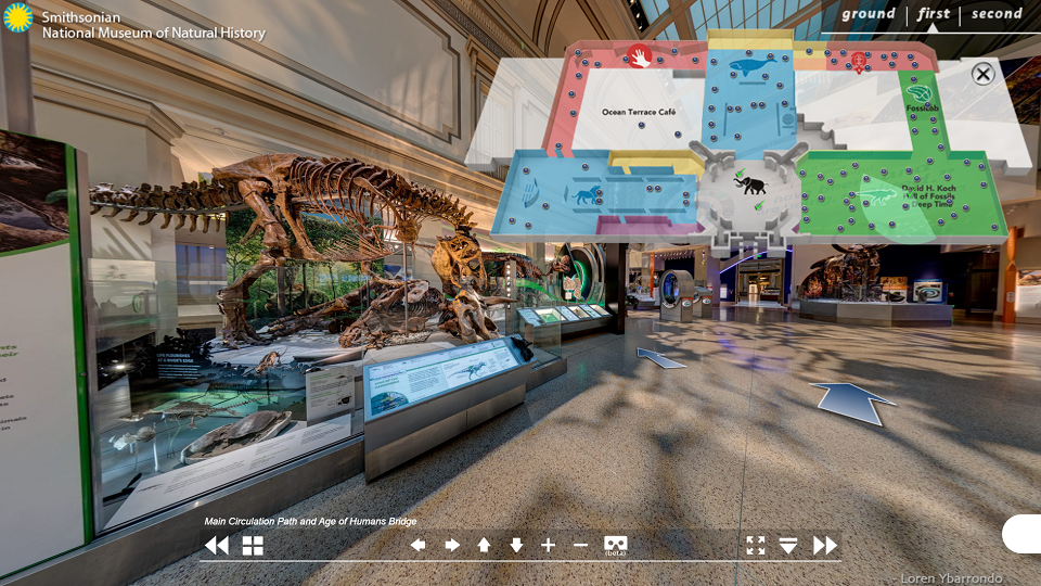 foto Smithsonian Museum Virtual Tour - tosilab